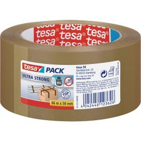 TESA Verpackungsband 57177 ultra strong 50 mm x 66 m braun