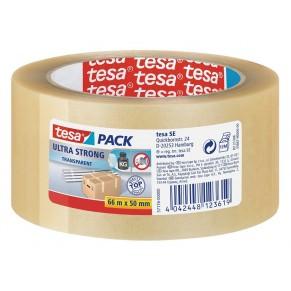 TESA Verpackungsband Ultra Strong 57176 50 mm x 66 m transparent