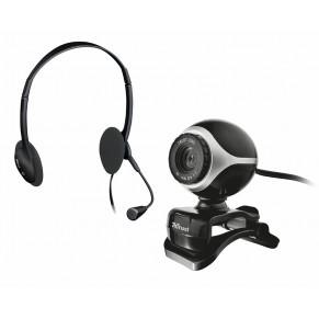 TRUST Exis Chatpack Webcam und Headset