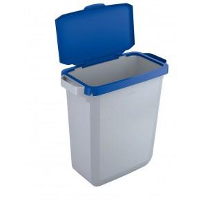 durable abfalleimer 1800496 durabin 60 liter blau papierk rbe alles f r den schreibtisch. Black Bedroom Furniture Sets. Home Design Ideas