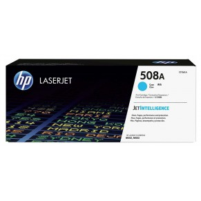 HP Toner LJ Cartridge Nr.508A cyan 5K