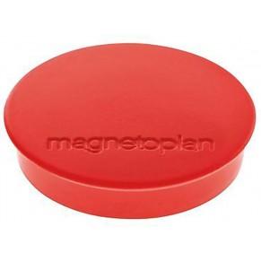 MAGNETOPLAN Magnet Discofix 30 mm 10 Stück rot