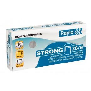 RAPID Strong Heftklammern 26/6 5.000 Stück