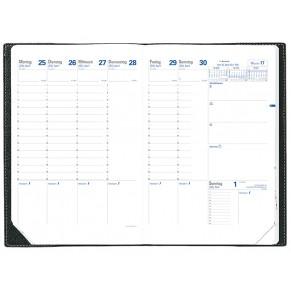 Quo Vadis Kalender Trinote 18 X 24 Cm 1 Woche Auf 2 Seiten Sortiert