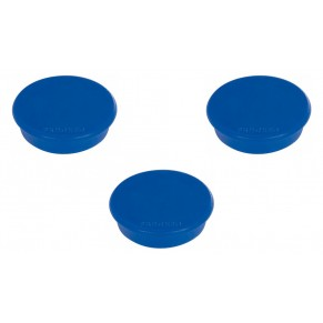 FRANKEN Magnet 32 mm 10 Stück dunkelblau