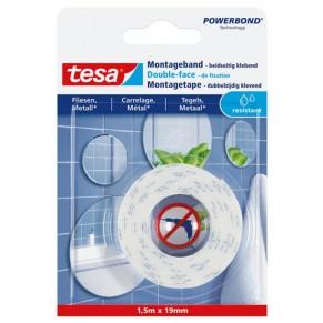 TESA Montageband 77744 19 mm x 1,5 m weiß