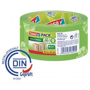 TESA Verpackungsband 58156 Eco & Strong 50 mm x 66 m grün