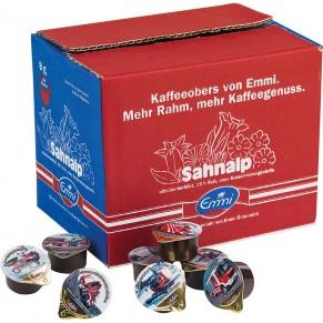 SAHNALP Kaffeeobers 100 Stück à 8 g 15 % Fett