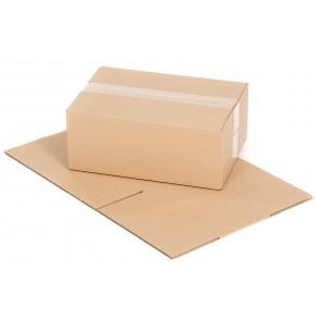 Versandkarton Größe 2 1-wellig 350 x 250 x 140 mm braun