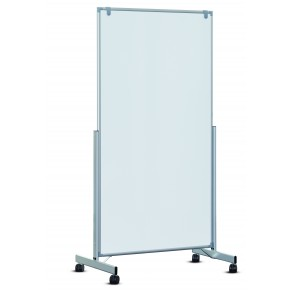 MAUL Whiteboard MAULpro easy2move 100 x 180 cm grau