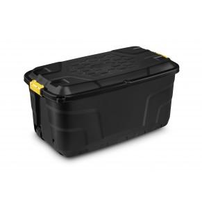 CEP Aufbewahrungsbox Strata Heavy Duty 145 Liter schwarz