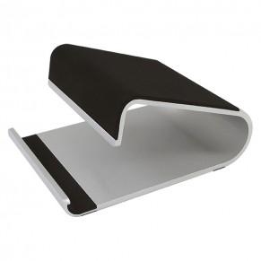 "HELIT Tablethalter ""the jaw stand"" Aluminium silber/schwarz"