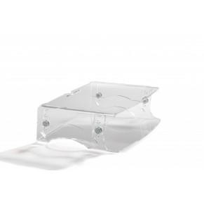 BAKKER ELKHUIZEN Monitorständer Q-Riser 130 glasklar