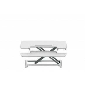 BAKKER ELKHUIZEN Steh-Sitz-Schreibtischaufsatz weiß