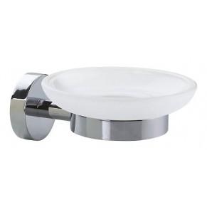 TESA Seifenhalter SMOOZ 2-teilig chrom/weiß