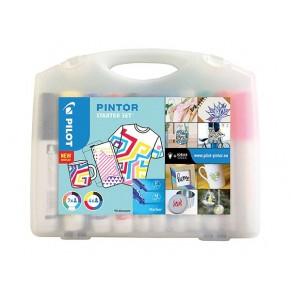 PILOT Kreativmarker Pintor Starterset 11 Stück farbig sortiert