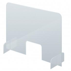 FRANKEN Schutzschild SSW5085 Acryl 50 x 85 cm transparent