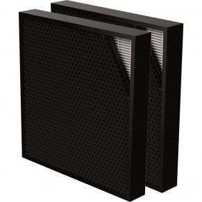 FELLOWES Hybridfilter AeraMAX 2 Stück für AeraMAX Pro III und AeraMAX Pro IV schwarz