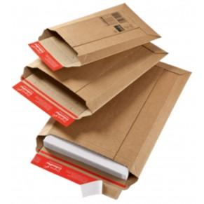 COLOM PAC Kartontasche C4 250 x 360 + 50 mm braun