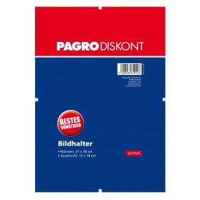 PAGRO Bildhalter 3 Stück 21 x 30 cm ohne Rahmen