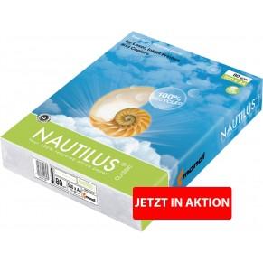 NAUTILUS Classic Recycling-Kopierpapier 500 Blatt A4 80 g/m² weiß