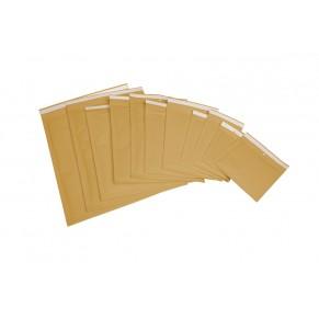 Luftpolstertasche 10 Stück 17,5 x 16,5 cm braun