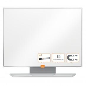 NOBO Whiteboard Classic mit Stahloberfläche 600 x 450 mm weiß