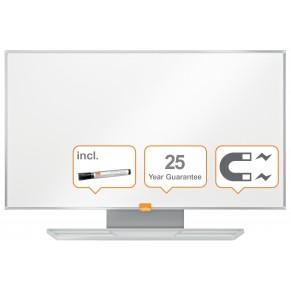 """NOBO Whiteboard Widescreen NanoClean™ mit Emailleoberfläche 72 x 41cm (32"""") weiß"""