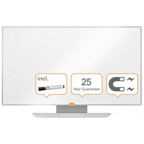 """NOBO Whiteboard Widescreen NanoClean™ mit Emailleoberfläche 90 x 51cm (40"""") weiß"""