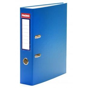 PAGRO Ordner DIN A4 Polypropylen 7,5 cm blau