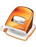 LEITZ NeXXt Locher aus Metall 30 Blatt metallic orange