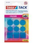 TESA Klebepads 59407 Tack 9 Stück blau