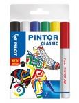 PILOT Kreativmarker Pintor Klassik 6 Stück F farbig sortiert
