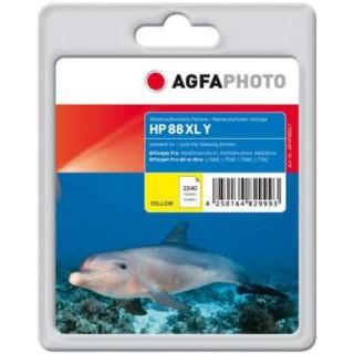 AGFAPHOTO Tintenpatrone HP Nr. 88XL 23 ml gelb