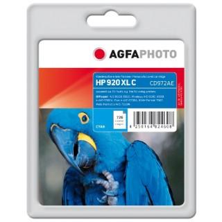 AGFAPHOTO Tintenpatrone mit Chip HP Nr. 920XL 14 ml cyan