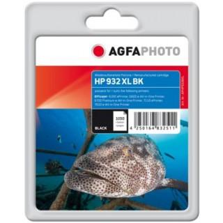 AGFAPHOTO Tintenpatrone mit Chip HP Nr. 932XL 33 ml schwarz