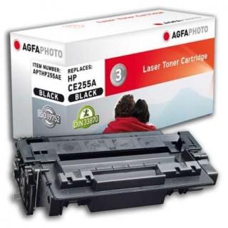 AGFAPHOTO Toner mit Chip HP CE255A 6K schwarz