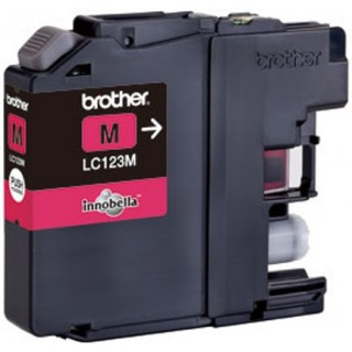 BROTHER Tintenpatrone LC123 0,6K magenta