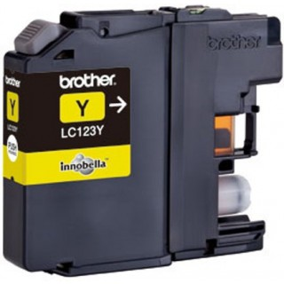 BROTHER Ink LC123Y