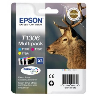 EPSON Tinte Multipack T1306 1x3 color