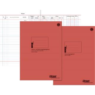 URSUS Wareneingangsbuch A4 40 Blatt rot