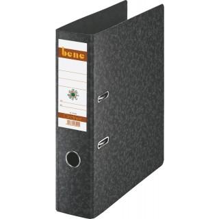 BENE Ordner 91300 DIN A4 Hartpappe 8 cm schwarz