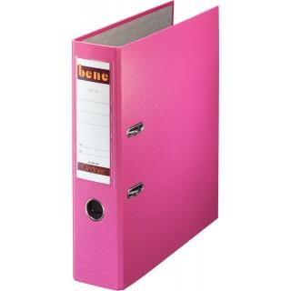 BENE Ordner 291400 A4 8 cm breit rosa