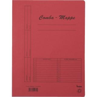 BENE Comba-Mappe 111000 A4 Karton rot