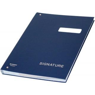 DONAU Unterschriftenbuch 8690001 A4 dunkelblau