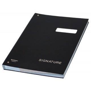 DONAU Unterschriftenbuch 8690001 A4 schwarz