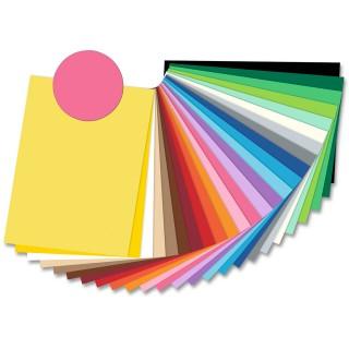 FOLIA Tonzeichenpapier 6723 50 x 70 cm 130 g/m² pink