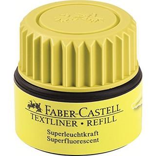 FABER CASTELL Nachfüllung für Textliner 30 ml gelb