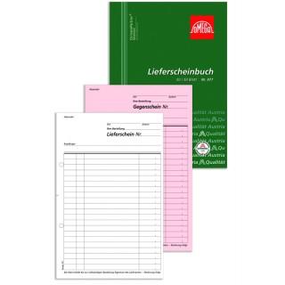 OMEGA Lieferscheinbuch 977 A5 2 x 50 Blatt