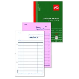 OMEGA Lieferscheinbuch 977OK A5 2 x 50 Blatt